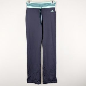 adidas | Teal Accent Dark Gray Yoga Pants - A16